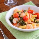 Spicy Prawn Quinoa Pasta